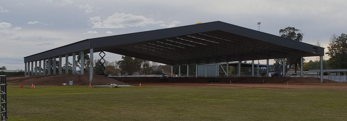 Scone Horse Arena Hunter Councils Akura design and construct