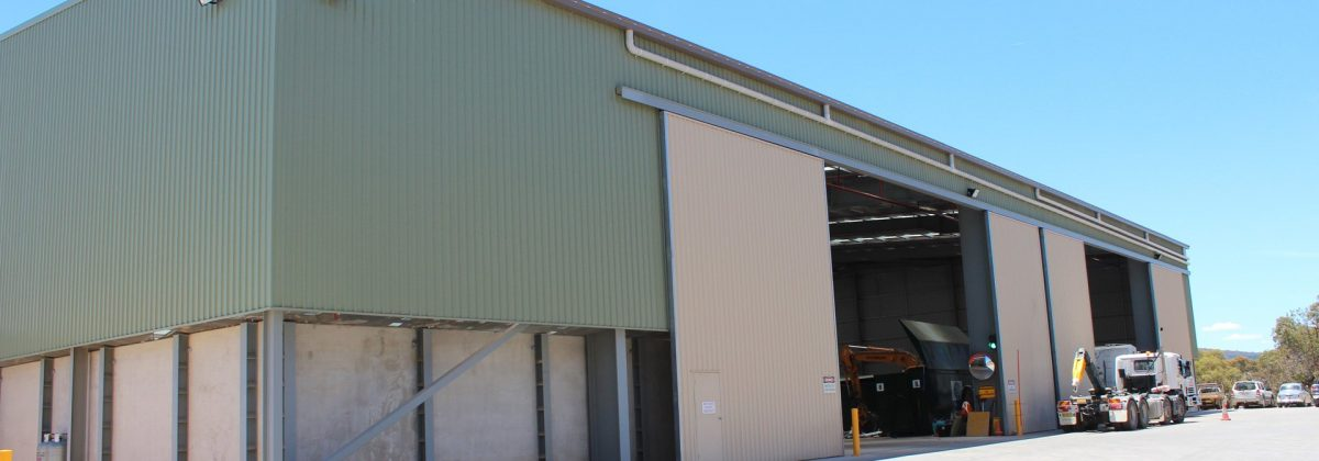 Resource Recovery Centre Akura design and construct lock-up package