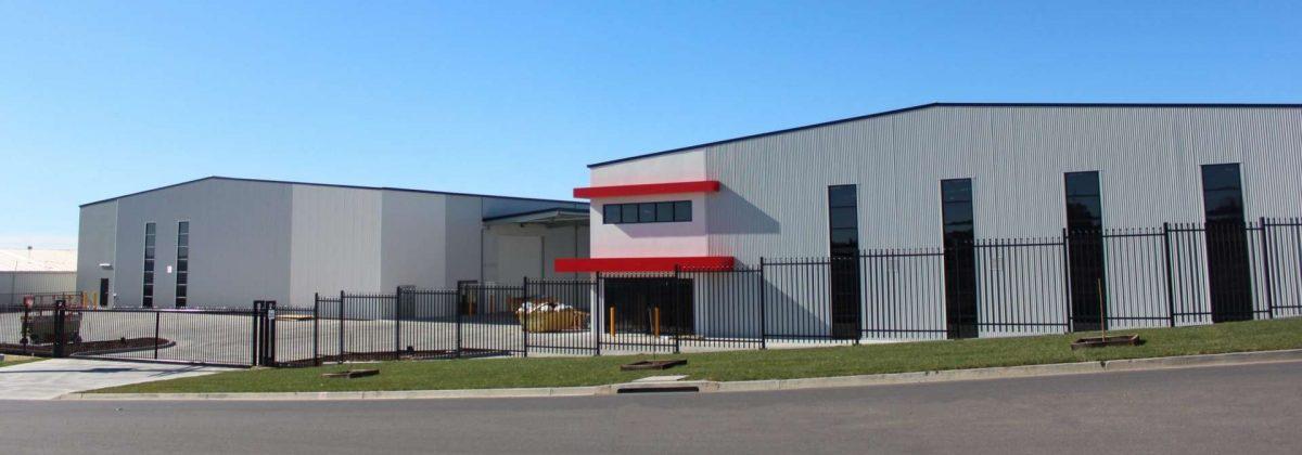Supawood twin building development akura design and construct